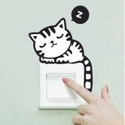 Наклейка на выключатель арт.001