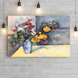 """Ваза с цветами"" Поль Гоген"