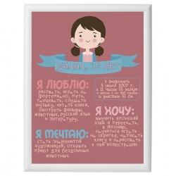 Постер на день рождения арт.004