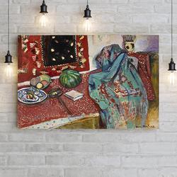 """""""Натюрморт с красным ковром"""" Анри Матисс"""