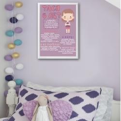 Постер на день рождения арт.006