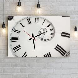 Черно-белые часы