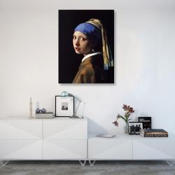 «Девушка с жемчужной сережкой» Ян Вермеер