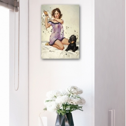 "Постер в стиле ""Пин-ап"" арт.0004"