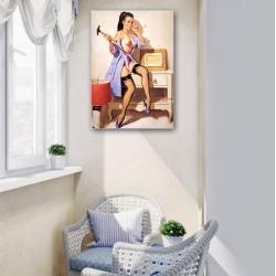 "Постер в стиле ""Пин-ап"" арт.0002"