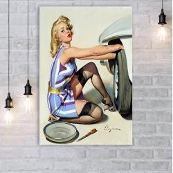 "Постер в стиле ""Пин-ап"" арт.0007"