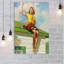 "Постер в стиле ""Пин-ап"" арт.0005"