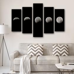 Фазы луны (модульная картина)