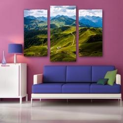 Горы. Австрия (модульная картина)