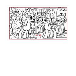 Литл пони с друзьями