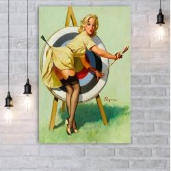 "Постер в стиле ""Пин-ап"" арт.0017"