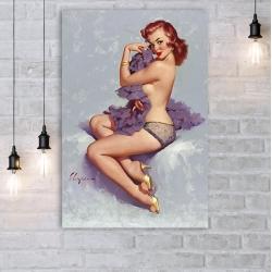 "Постер в стиле ""Пин-ап"" арт.0020"