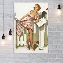 "Постер в стиле ""Пин-ап"" арт.0011"