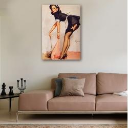 "Постер в стиле ""Пин-ап"" арт.0014"