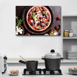 Аппетитная итальянская пицца